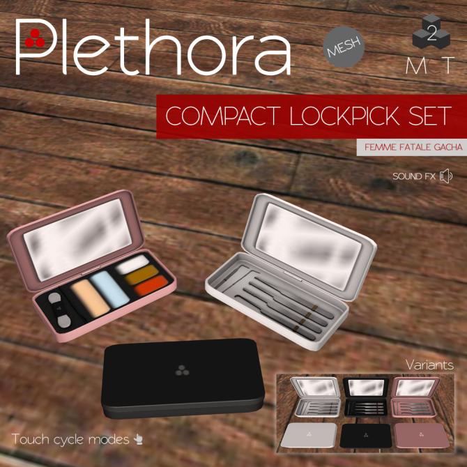 Plethora - Compact Lockpick Sets (Femme Fatale)